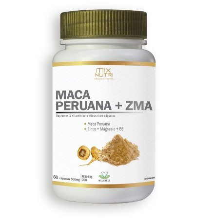 Maca Peruana + ZMA