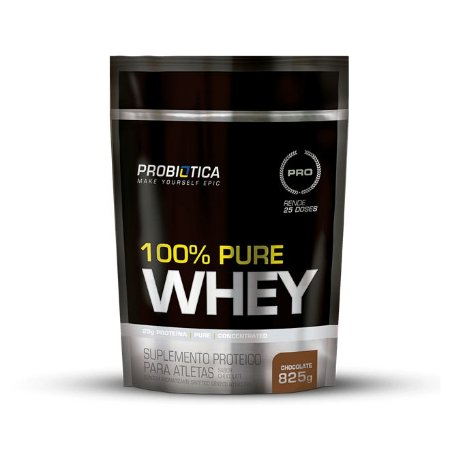 100% Pure Whey Refil - 825g - Probiótica