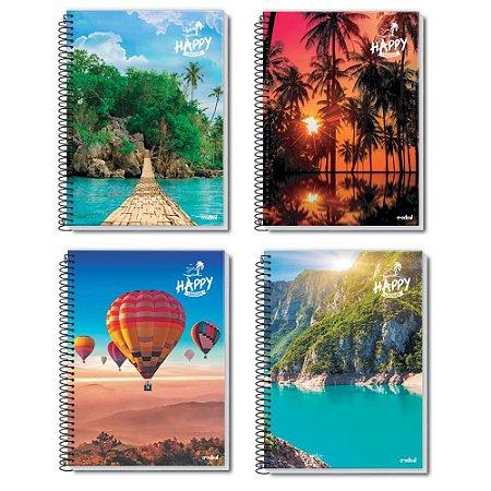 Caderno Universitário 10 Matérias