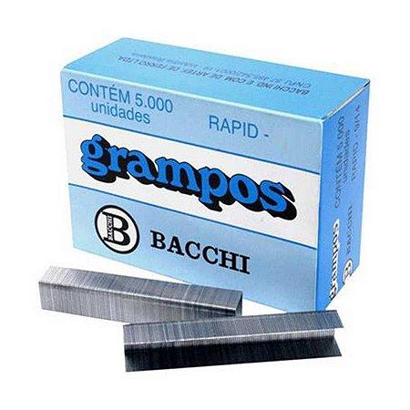 Grampo para grampeador Rapid 9/8 Galvanizado Caixa c/ 5.000 un.