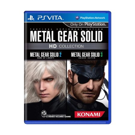 Jogo Metal Gear Solid: HD Collection - PS Vita