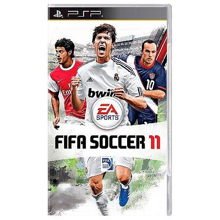 Jogo FIFA Soccer 11 - PSP