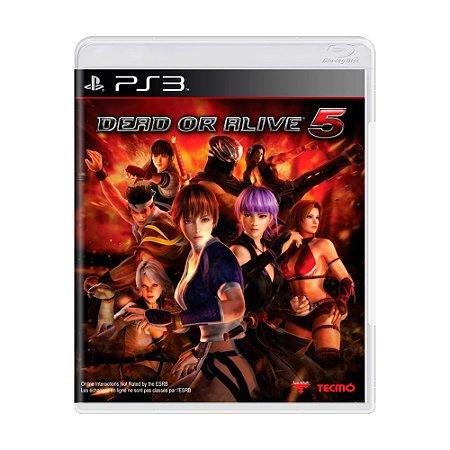 Jogo Dead or Alive 5 - PS3