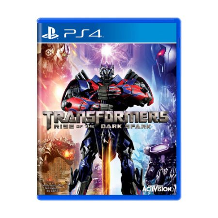 Jogo Transformers: Rise of the Dark Spark - PS4
