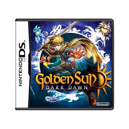 Jogo Golden Sun: Dark Dawn - DS
