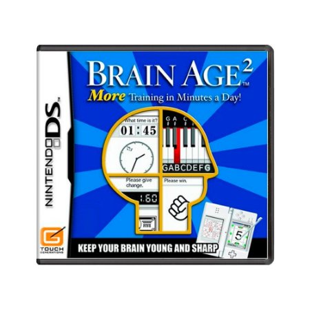 Jogo Brain Age 2: Train Your Brain in Minutes a Day! - DS