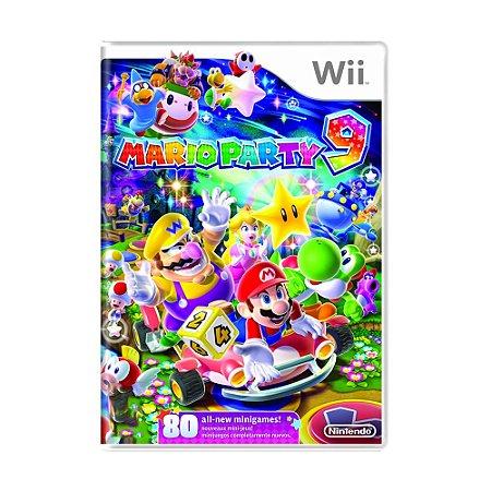 Jogo Mario Party 9 - Wii