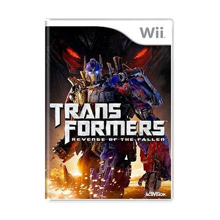 Jogo Transformers: Revenge of The Fallen - Wii