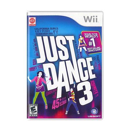 Jogo Just Dance 3 - Wii
