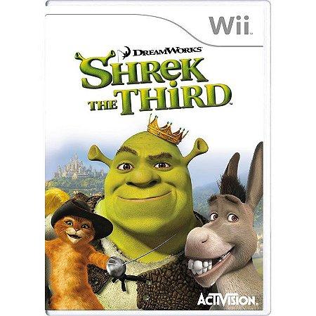 Jogo Shrek the Third - Wii