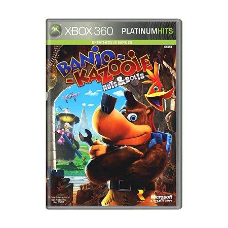 Jogo Banjo-Kazooie Nuts & Bolts + Viva Piñata - Xbox 360