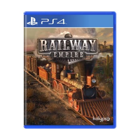 Jogo Railway Empire - PS4