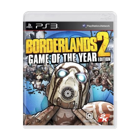Jogo Borderlands 2: Game of the Year Edition - PS3