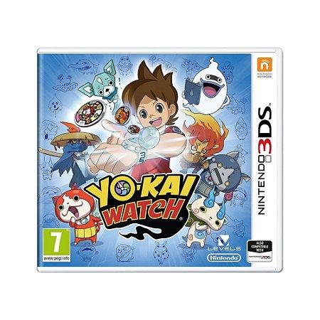 Jogo Yo-Kai Watch - 3DS (Europeu)