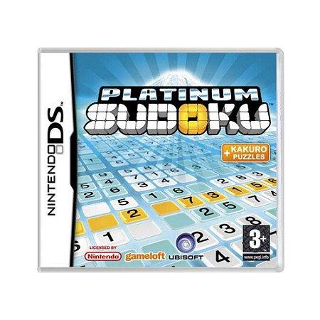Jogo Platinum Sudoku - DS (Europeu)