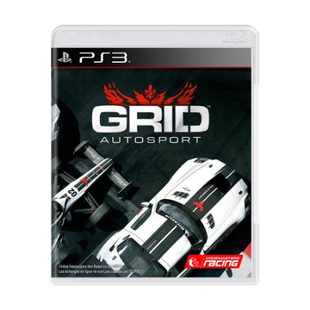 Jogo Grid: Autosport - PS3