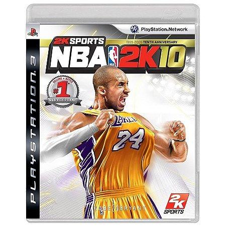 Jogo NBA 2K10 - PS3