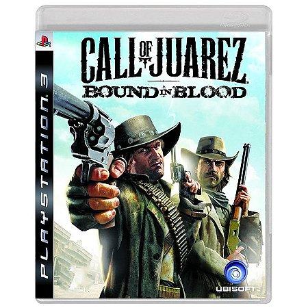 Jogo Call of Juarez: Bound in Blood - PS3