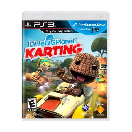 Jogo LittleBigPlanet Karting - PS3