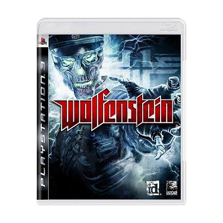 Jogo Wolfenstein Ps3 Meugameusado