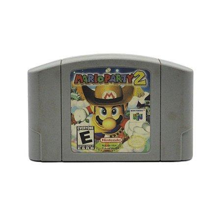 Jogo Mario Party 2 - N64