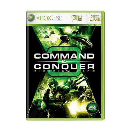 Jogo Command & Conquer 3: Tiberium Wars - Xbox 360