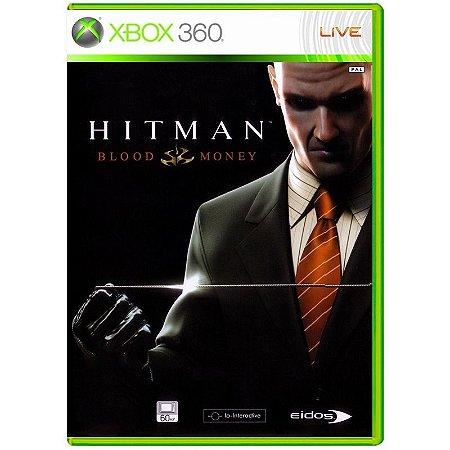 Jogo Hitman Blood Money - Xbox 360