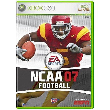 Jogo NCAA 07 Football - Xbox 360