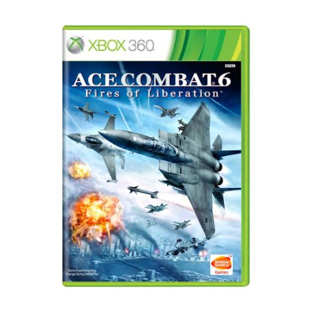 Jogo Ace Combat 6: Fires of Liberation - Xbox 360