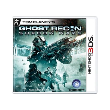 Jogo Ghost Recon Shadow Wars - 3DS