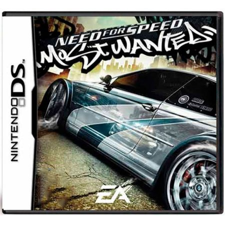 Jogo Need For Speed Most Wanted - DS