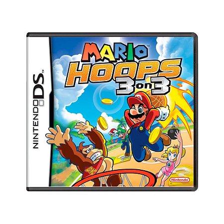 Jogo Mario Hoops 3 on 3 - DS
