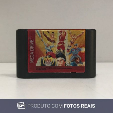 Jogo World Heroes - Mega Drive