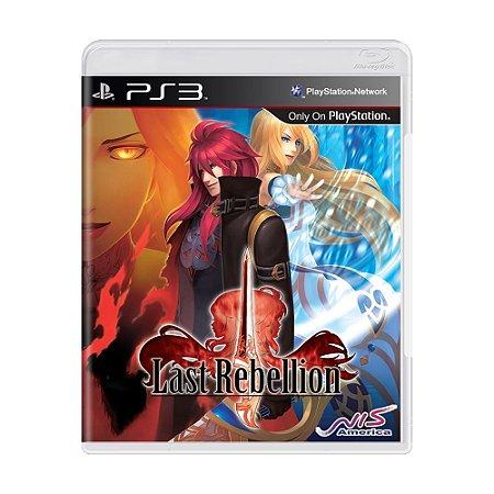 Jogo Last Rebellion - PS3