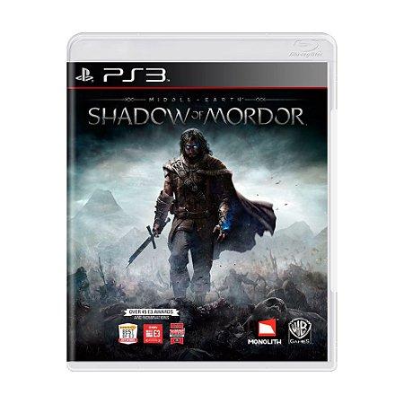 Jogo Middle-earth: Shadow of Mordor - PS3 [Inglês]