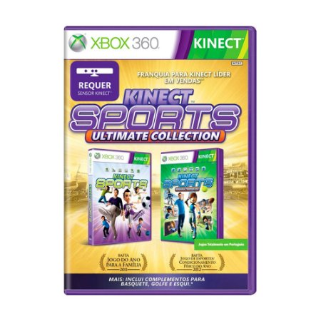 Jogo Kinect Sports + Kinect Sports: Segunda Temporada - Xbox 360