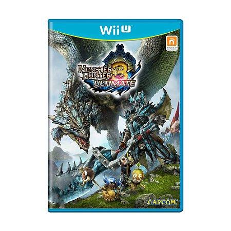 Jogo Monster Hunter 3 Ultimate - Wii U