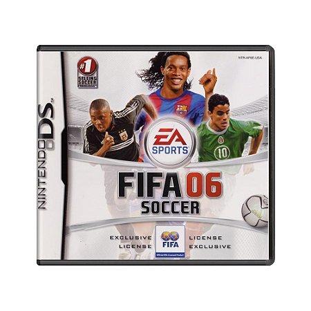 Jogo Fifa 06 Soccer - DS