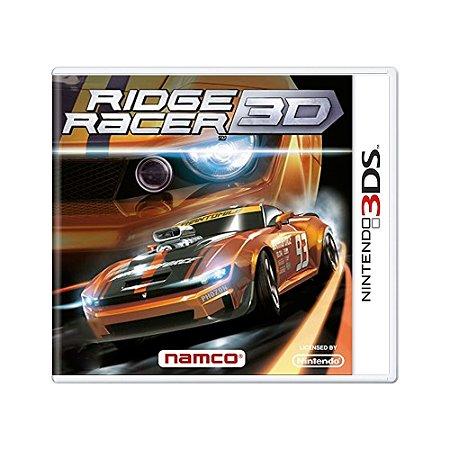 Jogo Ridge Racer 3D - 3DS [Europeu]