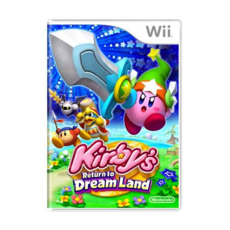 Jogo Kirby's Return To Dream Land - Wii