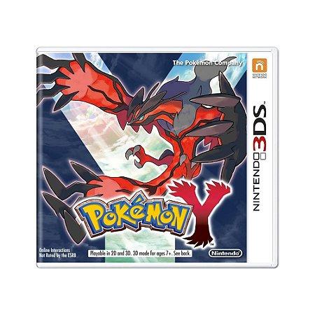 Jogo Pokémon Y - 3DS