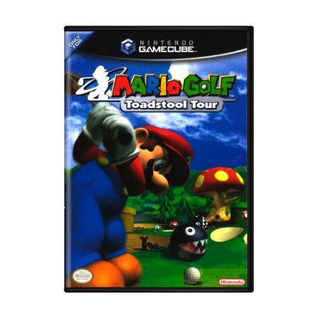 Jogo Mario Golf: Toadstool Tour - GC - GameCube