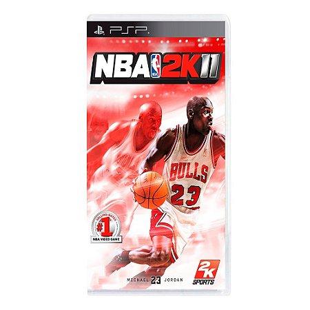 Jogo NBA 2K11 - PSP