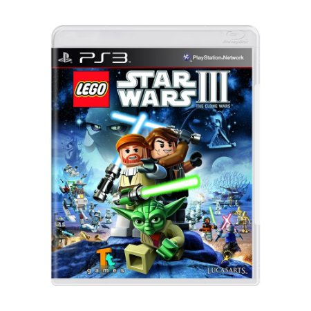 Jogo LEGO Star Wars III: The Clone Wars - PS3