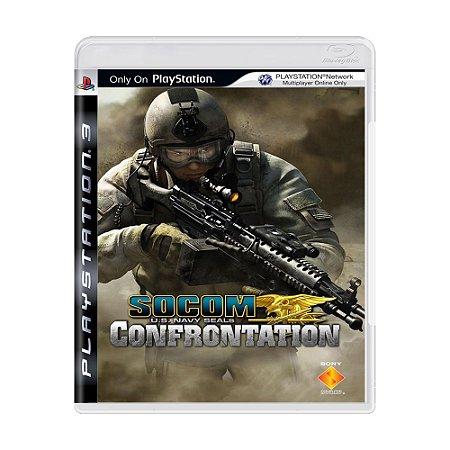 Jogo SOCOM U.S. Navy Seals: Confrontation - PS3