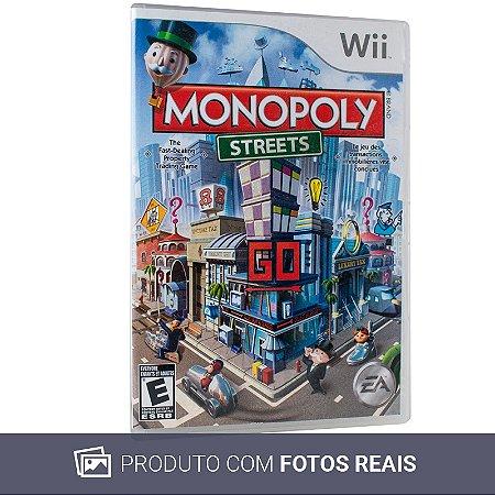 Jogo Monopoly Streets - Wii (Sem Capa)