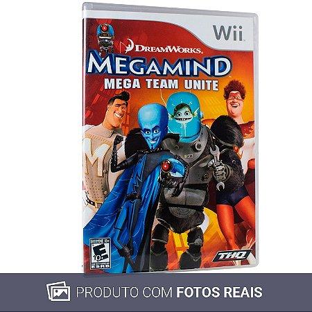 Jogo Megamind: Mega Team Unite - Wii (Sem Capa)
