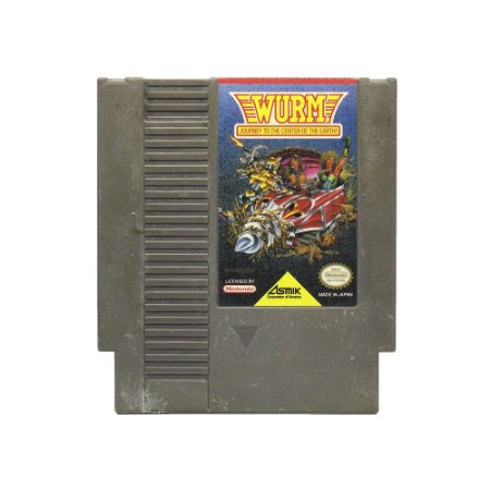 Jogo Wurm: Journey to the Center of the Earth - NES