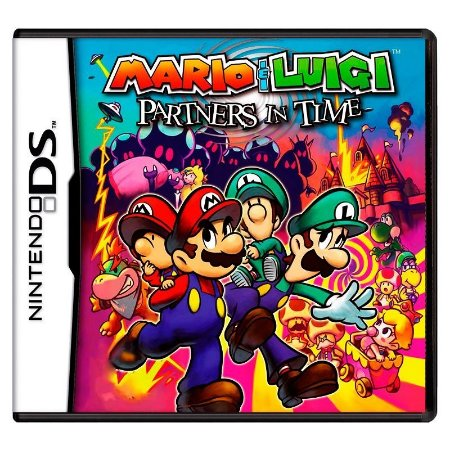 Jogo Mario & Luigi: Partners in Time - DS