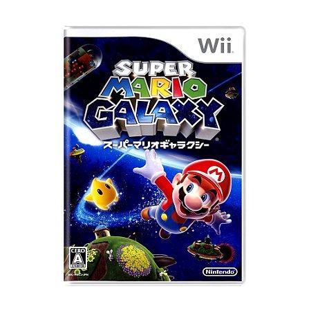 Jogo Super Mario Galaxy - Wii (Japonês)